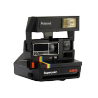 Polaroid 600 Supercolor 635 CL Instant Film Camera