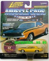 JOHNNY LIGHTNING MUSCLE CARS U.S.A 1970 PLYMOUTH AAR CUDA