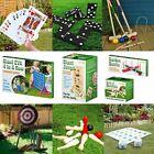 Giant Garden Outdoor Summer BBQ Party Kids Family Fun Games Skittle Dominoes