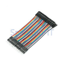 40PCS NEW Dupont 10CM Male To Female Jumper Wire Ribbon Cable for Arduino