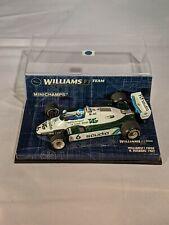 Keke Rosberg, 1982 World Champion, 1982 Williams TAG FW08, F1, 1:43 Minichamps
