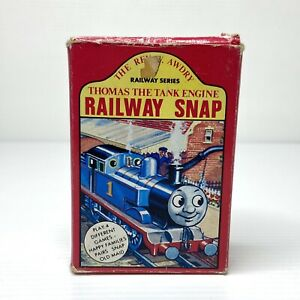 Thomas The Tank Engine Railway Snap Card Game Vintage (Croner, 1986)