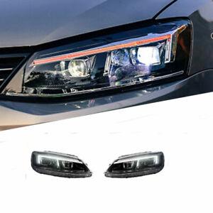 For VW Jetta 12-15 LED Daytime Running lights Dynamic Signal Xenon Lo/Hi Beam
