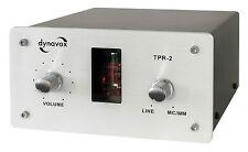 Préamplificateur / buffer à tube Dynavox TPR-2 ALU avec entrée Phono