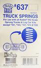Kadee HO 637 / Truck Springs 18 Springs for kits: 101, 104, 513  555