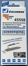 Viessmann 45558 - motorischer Weichenantrieb inkl. Weichenlaterne und Decoder