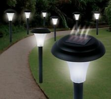 LED Solar Light Yard Lamps SET OF 8 Lawn Garden Powered Landscape Accent Pathway