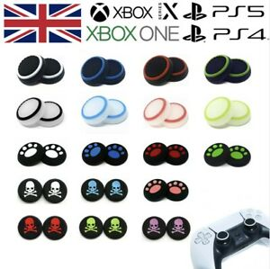 XBOX ONE 360 Controller Thumb Grips Silicone Rubber Analog Stick Pro Cap Covers