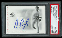 2001 UD SP Authentic Albert Pujols Chirography Rookie Auto PSA 10 Gem Mint RC