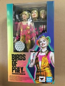 NEW 100% AUTHENTIC BANDAI S.H.FIGUARTS HARLEY QUINN BIRDS OF PREY [US SELLER]