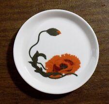 "Wedgwood CORNPOPPY Susie Cooper Design 4"" Coaster MINT"
