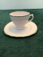 Vintage Royal Vale Pink Cup And Saucer