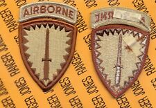 US Army Special Operations Command Europe Airborne SOCEUR Desert DCU patch m/e