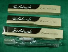 Lot of 3 Vintage Toothbrush Keio Plaza Hotel Toyko Japan