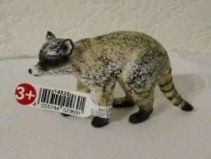 Schleich   -      Waschbär  ( Mit Fähnchen )