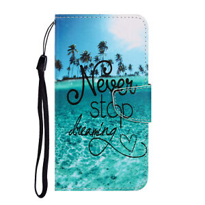 For Huawei P Smart 2021 2020 Case Magnetic Flip Leather Wallet Card Holder Cover