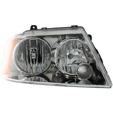 Headlight For 2003 Lincoln Navigator Base Model Right Clear Lens With Bulb