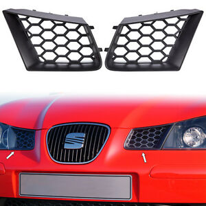 Seat Ibiza Cordoba 6L 2002-2009 2x Kühlergrill Wabengrill FR Waben Gitter Grill