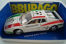 BBURAGO BURAGO voiture miniature 1:18 Ferrari Testarossa 1984 cod. 3019 Italia 90