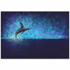 Whale Painting Humpback Art Whale Wall Art Modern Sealife Decor