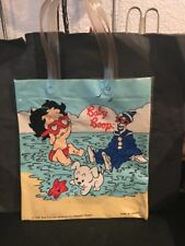 Vintage Betty Baby Boop Plastic Small Tote 1990 W/ Pudgy & Koko The Clown-RARE!