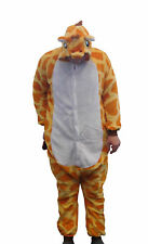 Flannel Kostüm Giraffe Damen Herren Kinder Karnevalskostüm Faschingskostüm XL