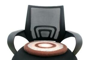 Wool Round Chair Pad - Handmade Cushion - Ecofriendly Seat Pad - 40 CM - Cushion