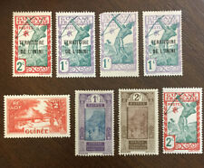Vintage Postage , French Guinea Stamp ,old Stamps,1921