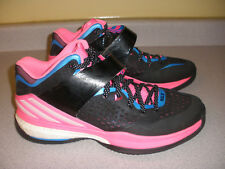 Men's ADIDAS RG3 Men's Basketball Shoes Size 8 PINK BLACK BLUE WHITE
