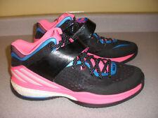 Men's ADIDAS RG3 Men's Basketball Shoes Size 12 PINK BLACK BLUE WHITE