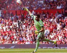 "Sergio Romero Authentic Hand-Signed ""Argentina - Manchester United"" 8x10 Photo D"