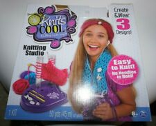 """Spin Masters, """"Knit's Cool Knitting Studio"""", Knitting Made Easy Kit"""