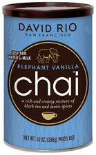 David Rio Elephant Vanilla Chai 398g in der Dose mit schwarzem Tee Chaitee