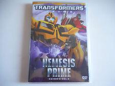 DVD NEUF-TRANSFORMERS / NEMESIS PRIME SAISON 2 VOL 2- ZONE 2
