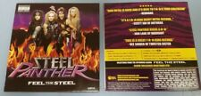 Steel Panther 2009 Feel Steel CD Promo Sampler w/Behind the Music mockumentary