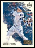 2020 Diamond Kings Artist Proof Gold #89 Anthony Rizzo /49 - Chicago Cubs