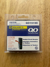 Square D Qo 2-15 Amp Single-Pole Tandem Circuit Breaker