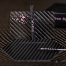 Pure Carbon Fiber Pink Snuff Cutting Card And Snorting Straw Tobacco woman