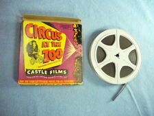 castle films 8mm #630 circus at the zoo