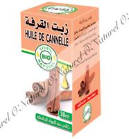 Huile de Cannelle BIO 100% Pure & Naturelle 30ml Cinnamon Oil, Aceite de Canela