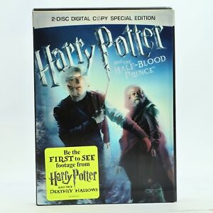 Harry Potter and the Half-Blood Prince Lenticular Slipcase DVD R1 VGC