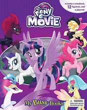 My Little Pony The Movie My Busy Book w/ 12 Figurines & Playmat- BRAND NEW!