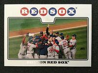 2008 Topps BOSTON RED SOX Rudy Giuliani #234 Short Print SP Variation - RARE!
