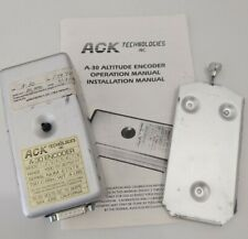 ACK Technologies Model A-30 Digitizer - Altitude Encoder; As removed, With Rack
