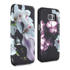 OFFICIAL TED BAKER SS16 Womens Slim Folio Case for Galaxy S7 Edge - MARIEL Black