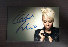 EMELI SANDE - CHART TOPPING SINGER - STUNNING SIGNED COLOUR PHOTO