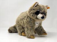Steiff Tier Waschbär Ronny braun meliert 32 cm, Nr. 071188, neuwertig