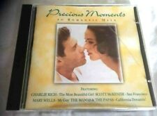 PRECIOUS MOMENTS ~ 20 ROMANTIC HITS ~ VARIOUS ARTISTS ~ DISC IN MINT CONDITION