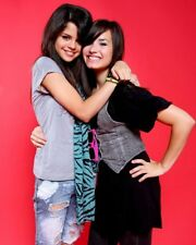 Demi Lovato and selena gomez 8x10 photo 7