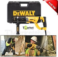 """Professional DEWALT 1-1/8"""" SDS Rotary Electric  Hammer Drill Concrete/Wood Tools"""